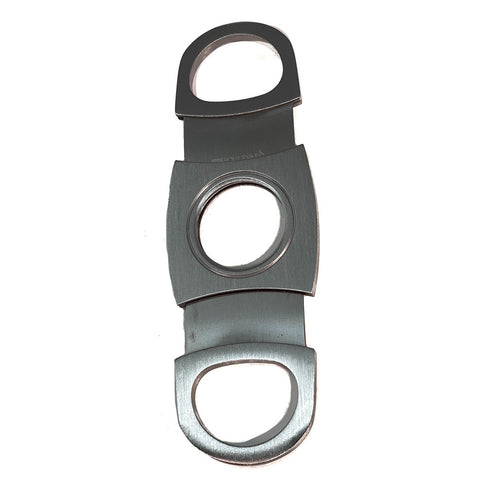 Image of Cigar Boulevard Cigar Cutter Classic Stainless Steel Double Blade