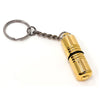 Cigar Boulevard Cigar Punch Cutter Golden Stainless Steel Built-in Plunger
