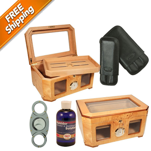 COMBO DELUXE PALACIO Cigar Humidor Shop Humidors and Accessories