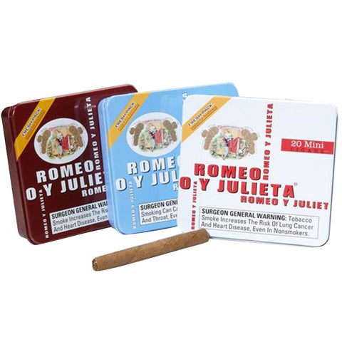 Romeo y Julieta 1875 ¨SMALL TIN CIGARS¨