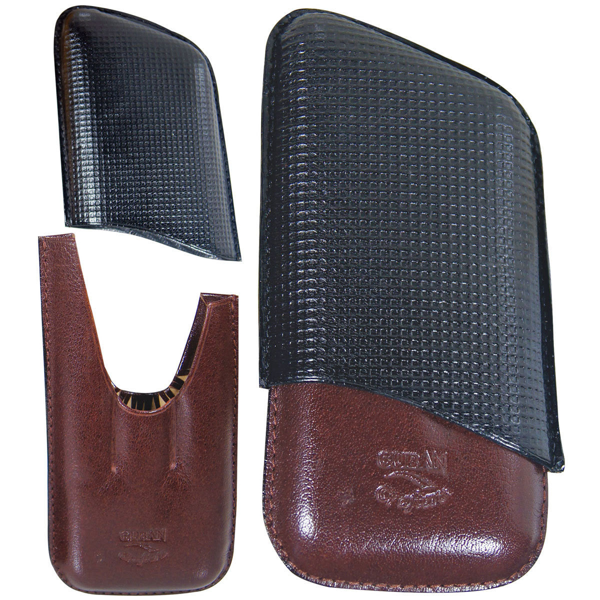 Leather Travel Cigar Cases - Cigar boulevard
