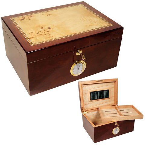 Image of Cuban Crafters Cuban Culture Cigar Humidors for 100 Cigars - Cigar boulevard