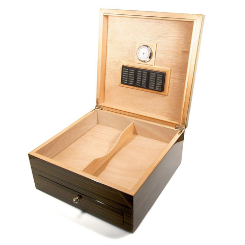 Image of Cigar Humidor Cuban Crafters Maestro for 75 Cigars - Cigar boulevard