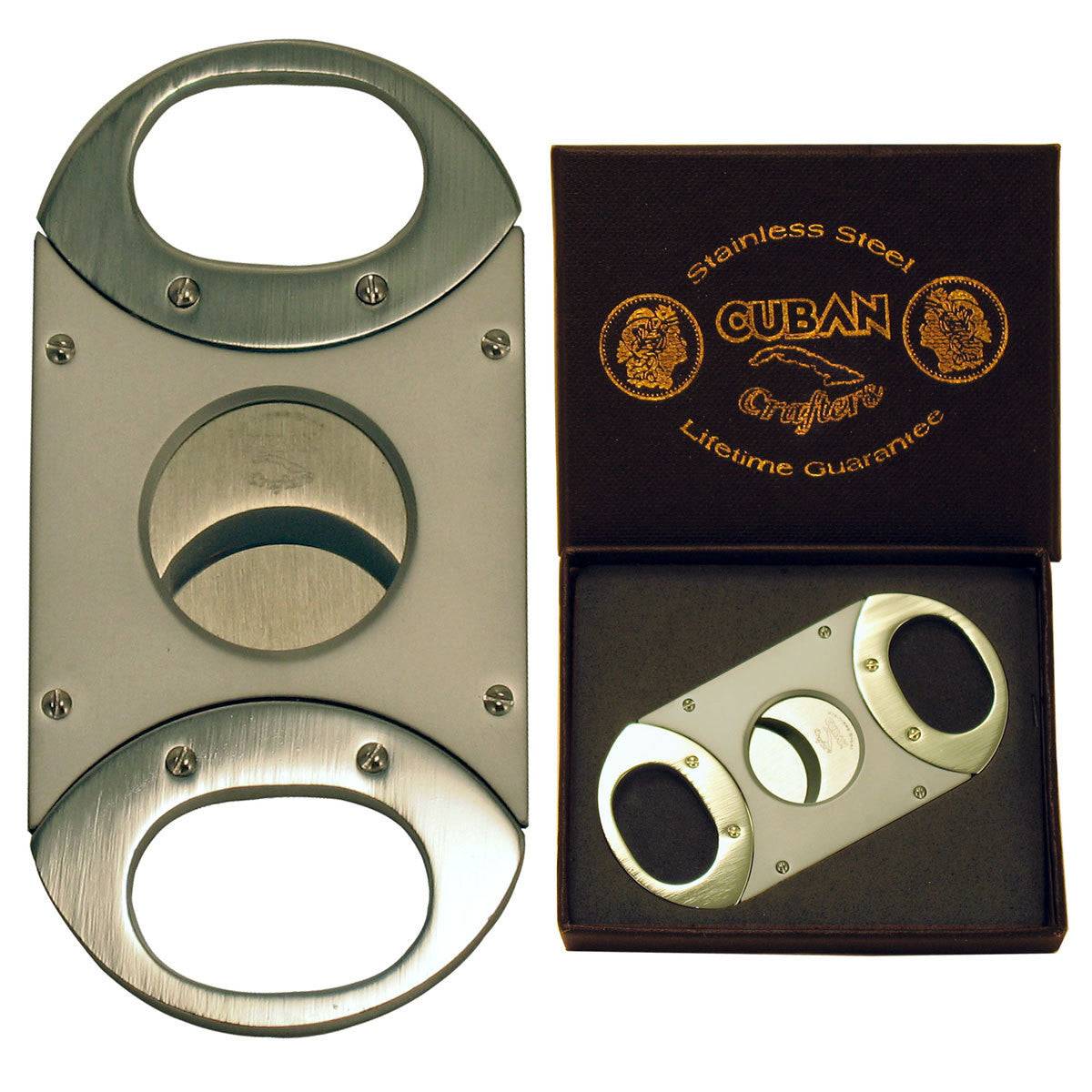 Cuban Crafters Unique Cigar Cutter Copper with Stainless Steel Blades - Cigar boulevard