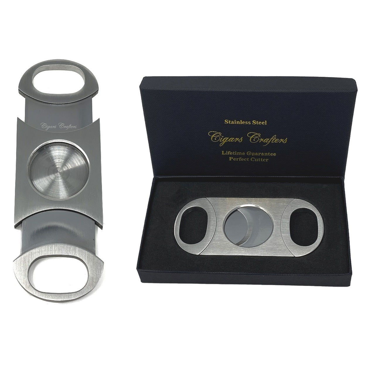 Crafters Churchill Cigars Humidor Case and Cutter Combo Bisabuelo - Cigar boulevard