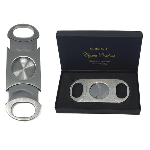 Image of Crafters Churchill Cigars Humidor Case and Cutter Combo Bisabuelo - Cigar boulevard