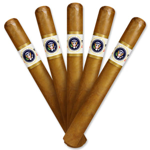 White House Presidential Churchill  7 X 50 Pack of 5 - Cigar boulevard