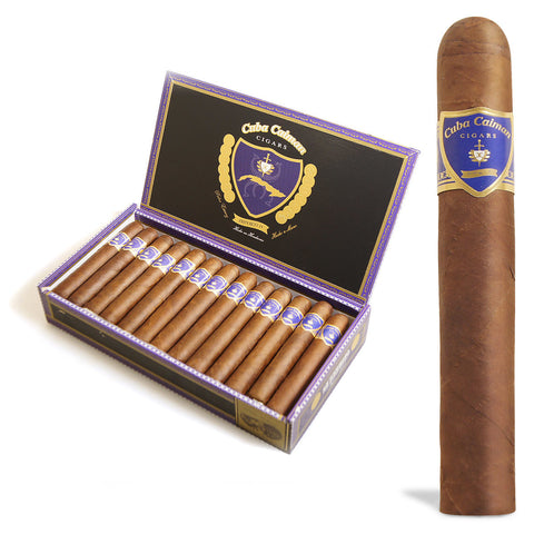 Image of Cuba Caiman Doble Corona cigars Box of 25 - Cigar boulevard