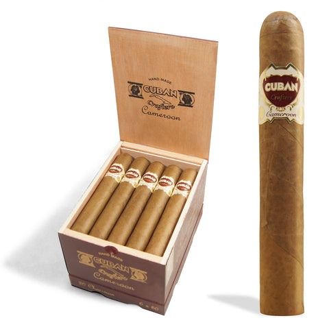 Cameroon Cigar Aficionado Cuban Crafters Cigars Box of 20 - Cigar boulevard