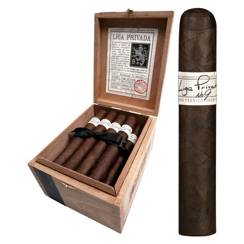 LIGA PRIVADA N.9 (Box and Pack cigars)