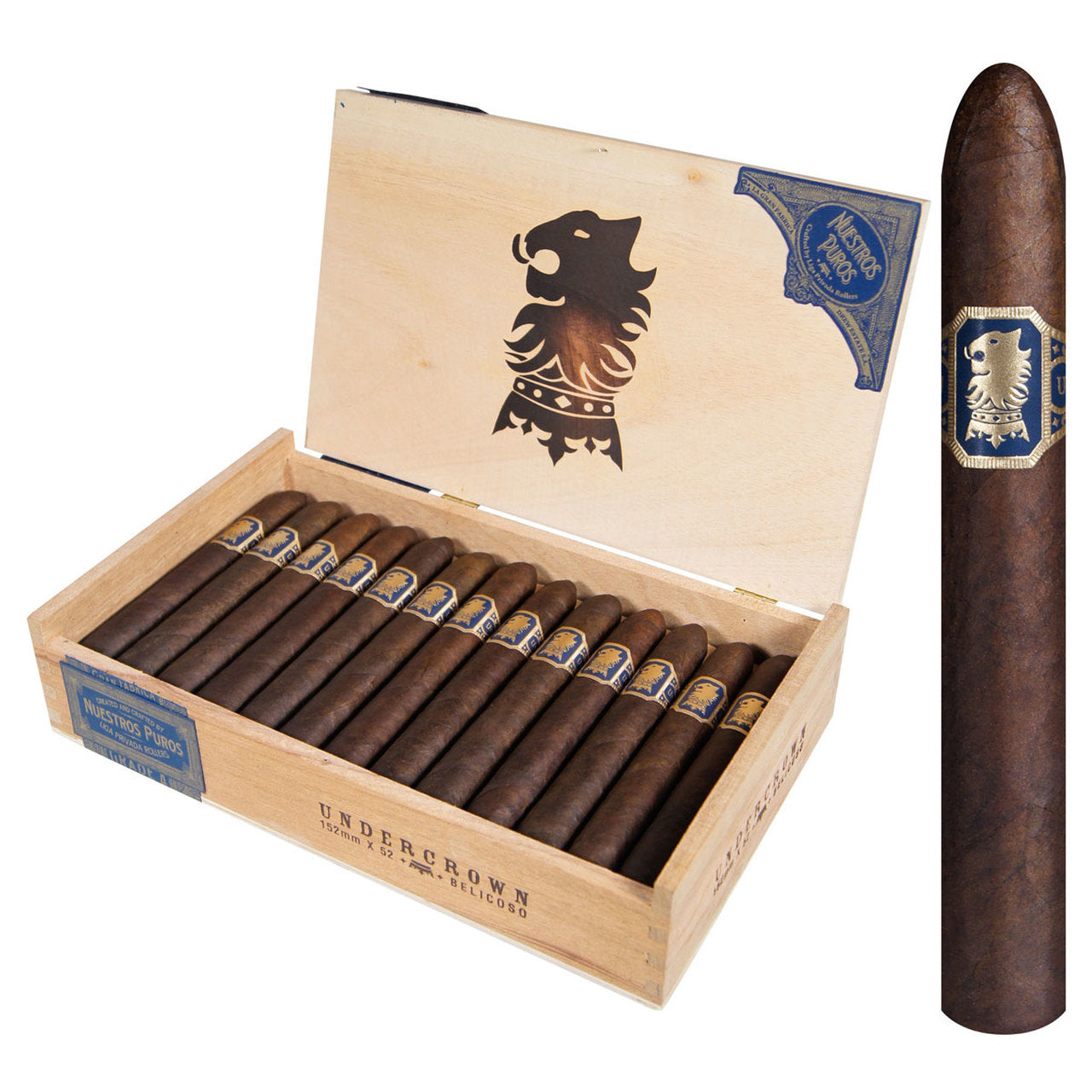 UNDERCROWN LIGA PRIVADA AND SHADE (Box and Pack Cigars)