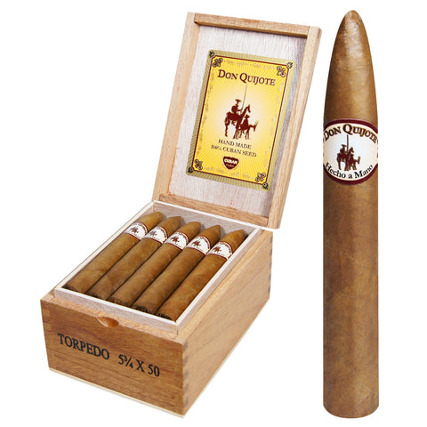 Image of Don Quijote cigars Box of 20 - Cigar boulevard