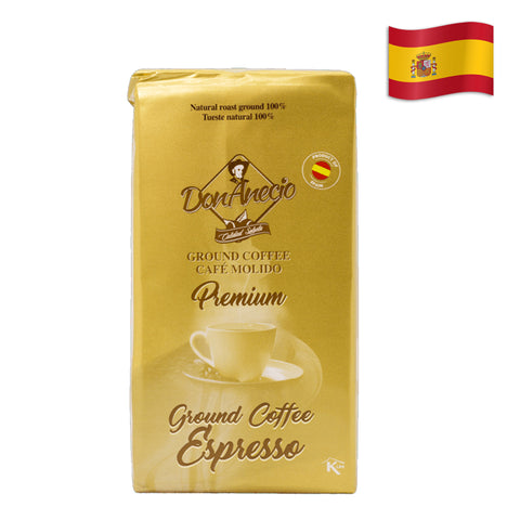SPANISH DON ANECIO COFFEE EXPRESSO Pack of 8.8 Oz