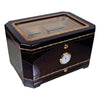 Cuban Crafters El Mirador Glass Humidor for 100 Cigars