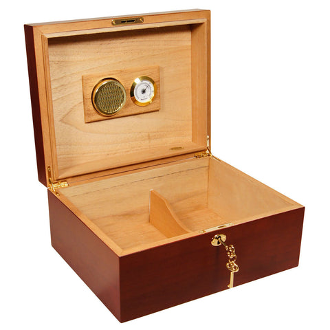 Image of Cigar Humidor Sales Cuban Crafters Especial Maple Humidors Sale for 50 Cigars - Cigar boulevard