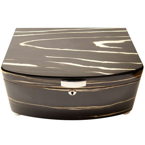 Exclusivo Black Cigar Humidor for 100 Cigars - Cigar boulevard
