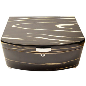 Cuban Crafters Exclusivo Black Cigar Humidors for 100 Cigars - Cigar boulevard