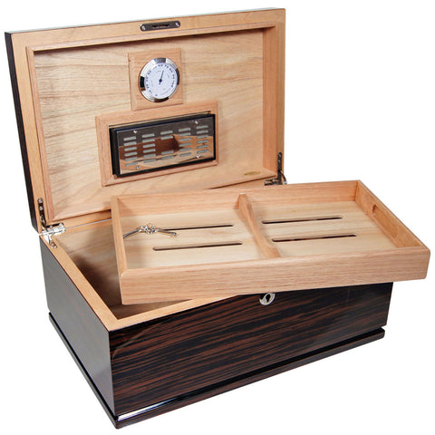 Image of Cuban Crafters Majestad Quality Cigar Humidors for 75 Cigars - Cigar boulevard