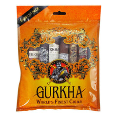 Gurkha Cigar Sampler Pack of 6 Different sizes - Cigar boulevard