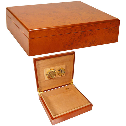 Cheap Humidors Cuban Crafters El Mio Cheap Cigar Humidor for 25 Cigars - Cigar boulevard