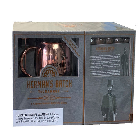 H. Upmann HERMANS BATCH GIFT SET Box of 5 Cigars