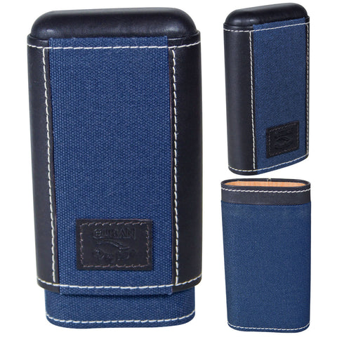 Isla Azul Pocket Humidor Cigar Hard Case - Cigar boulevard