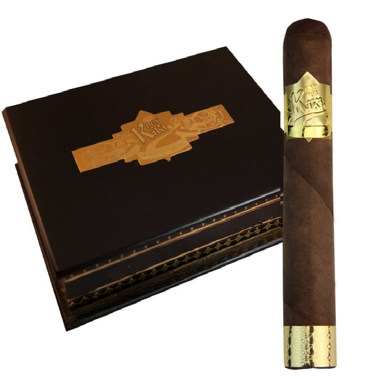 DON KIKI GOLD LABEL (El Gordo, Robusto and Toro Cigars) - Cigar boulevard