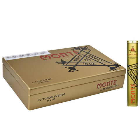 Image of MONTE by Montecristo by AJ Fernandez ¨BOXES and SINGLES¨