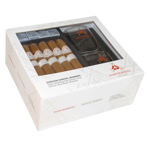 Image of Montecristo White WHISKEY GLASS SET - Five Toro