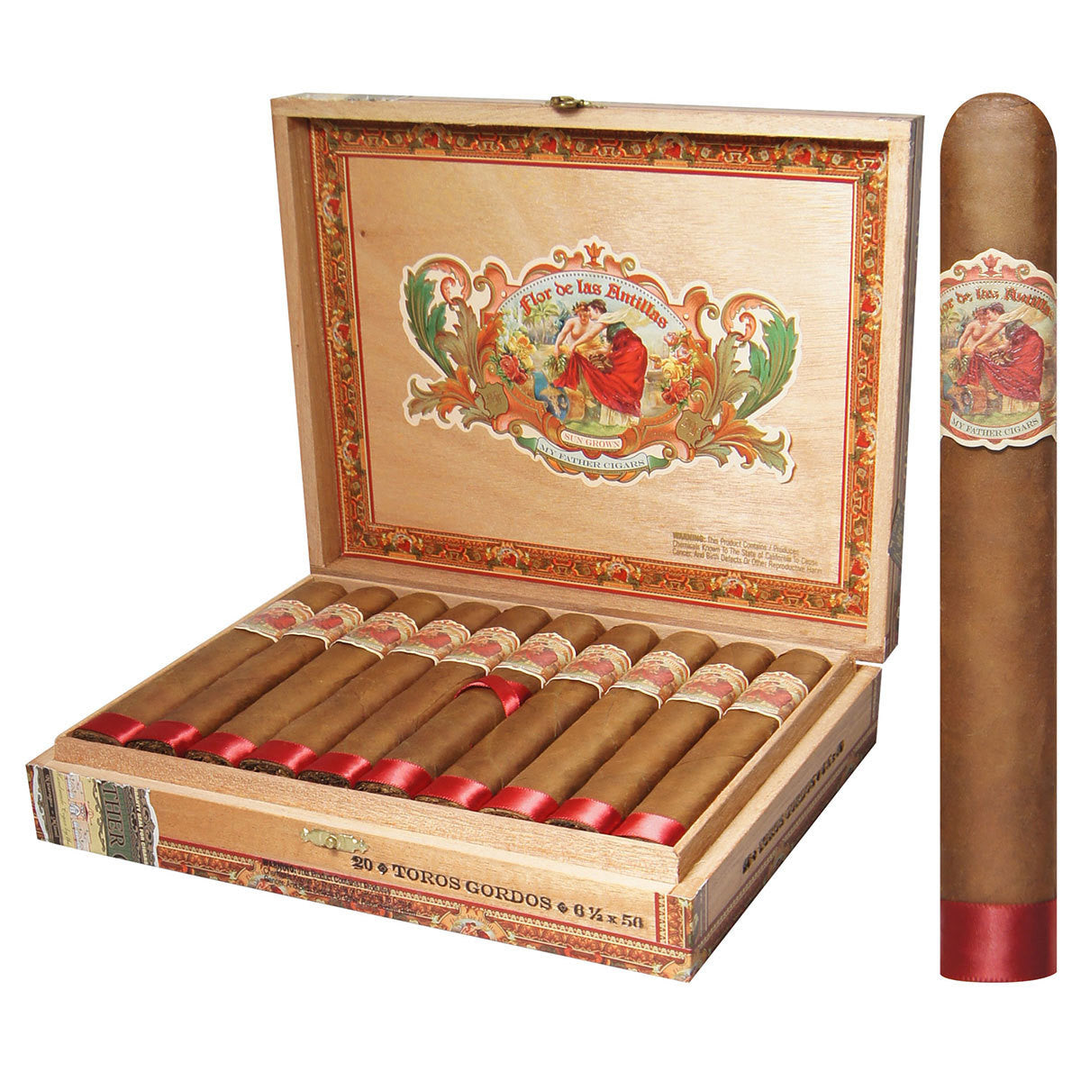 Flor de las Antillas Cigars Box of 20 - Cigar boulevard