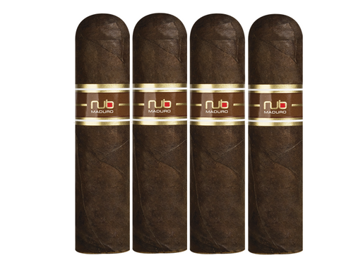 NUB 460 Maduro 4 X 60 Pack of 4 - Cigar boulevard