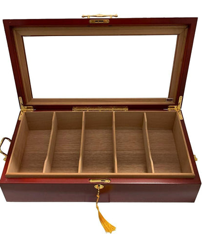 COMBO SUPER 100-Get 4 Bin Display Humidor + 45 Cigars+ Perfect Cutter