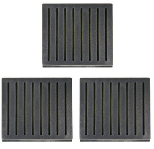 Cigar Humidifiers Black Square Humidifier 3.15 Length X 2.75 Width X .71 Height. Pack of 5