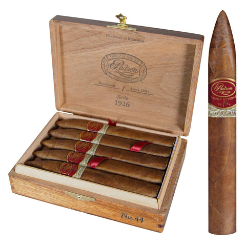 Padron Family Reserve Natural Cigars Box of 10 - Cigar boulevard