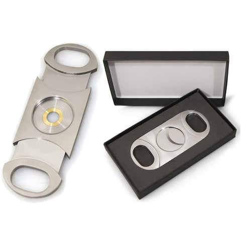 Cuban Crafters Perfect Cigar Cutter Dos Chabetas Up To 80 Ring Gauge - Cigar boulevard