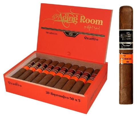 Image of AGING ROOM QUATTRO NICARAGUA Packs and Boxes Cigars - Cigar boulevard