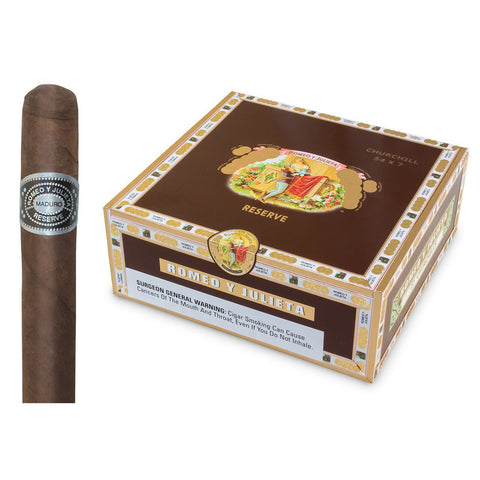 Romeo y Julieta HABANA RESERVE ¨BOXES and SINGLES¨