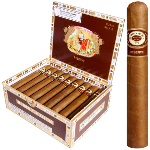 ROMEO Y JULIETA HABANA RESERVE Packs and Boxes Cigars - Cigar boulevard