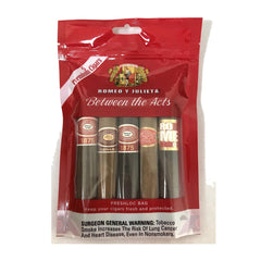 ROMEO Y JULIETA SAMPLER Pack of 5 s Assortment  Between the act Cigars - Cigar boulevard