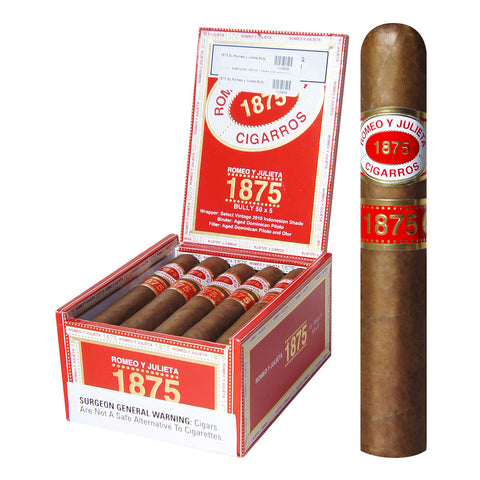 Image of 1875 BY ROMEO Y JULIETA Packs and Boxes Cigars - Cigar boulevard