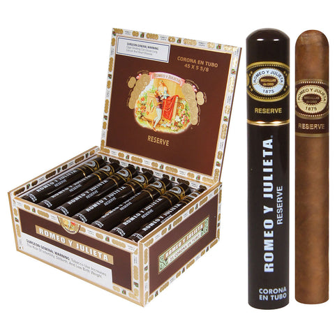 Romeo y Julieta Reserve Tubes Box of 21