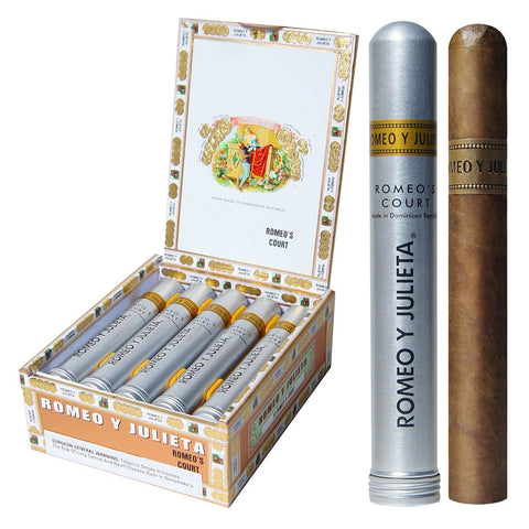 Romeo y Julieta 1875 Tube Cigars Box of 10