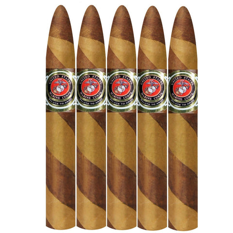 Salute To Arms Marine Special Edition Marine Missile 6 x 52 5 pack - Cigar boulevard