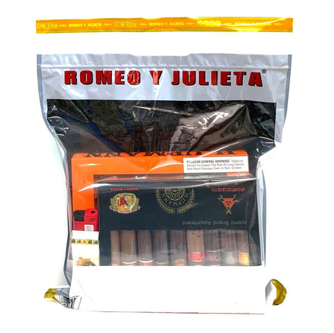 Iconic Survival KIT 2 ¨CIGARS+ASHTRAY+LIGHTER and MATCHES¨