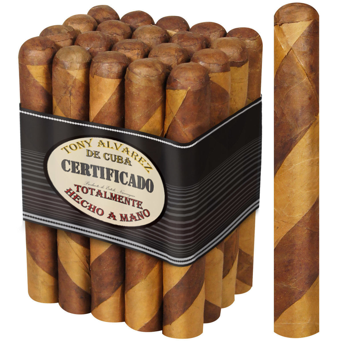 Tony Alvarez Barber Pole Cigar Bundles of 25