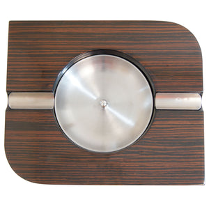 Tesoro Ebony Wood Cigar Ashtray - Cigar boulevard