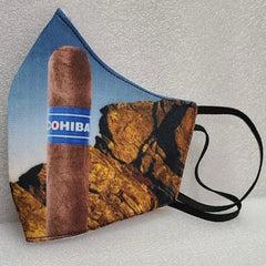 Cohiba Face Mask Unisex Washable and Reusable
