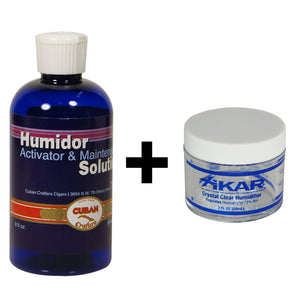 Xikar Crystal Gel Humidification Jar 2oz/ 4oz