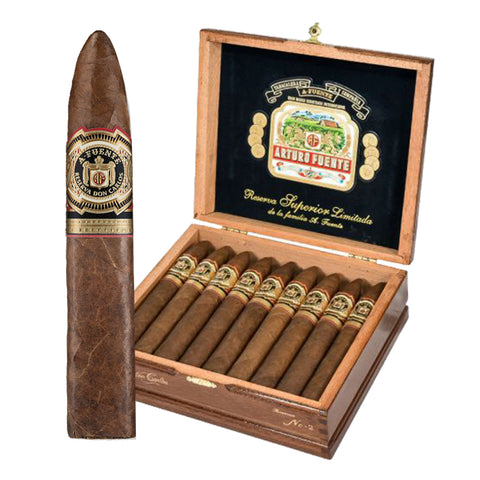 Arturo Fuente DON CARLOS ¨BOXES and SINGLES¨