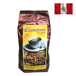 ORGANIC CAZTELLANI COFFEE Ground Pack of 9 Oz